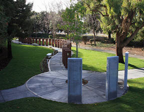 North View of Flight 93 Memorial in Union City, California